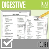 Digestive System Quiz Worksheets & Teaching Resources   TpT