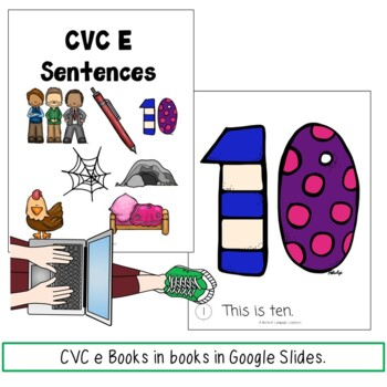Google Slide cvc e books