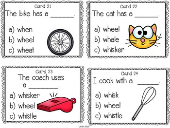 Digraph Reading Task Cards by Literacy Without Worksheets