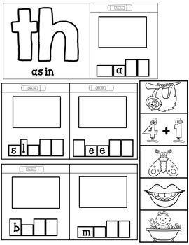 Level 1 Unit 3 Digraphs Games and Activities by Cartwheels