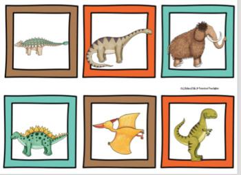 Dinosaur Bingo Dollar Deal By Preschool Printable TpT