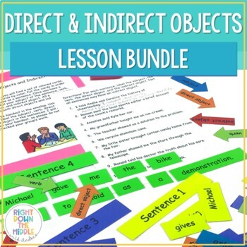 Direct Objects and Indirect Objects PowerPoint Handouts