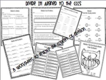 Divide It! Division Unit aligned to the CCCS * BUNDLE