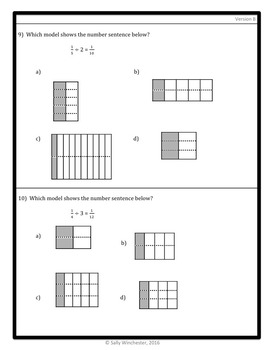 Dividing Fractions Quiz: Unit Fraction by Whole Number, 5