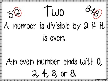 Divisibility Rules Task Cards and Games by Victoria