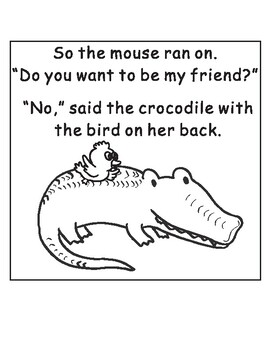Do You Want to Be My Friend? Eric Carle Sequencing Text