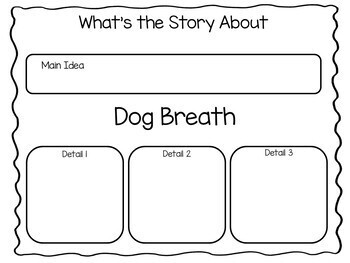 Dog Breath by Dav Pilkey 50 pgs Common Core Activities by