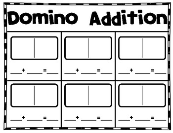 Domino Addition And Subtraction {freebie} By Khrys Greco  Tpt