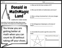Donald Duck In Mathmagic Land Worksheet. Donald. Best Free