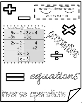 Doodle: Solving Multi-Step Equations by Getting Rid of the