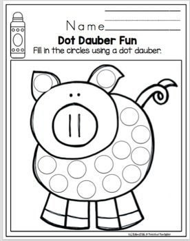 Dot Dauber Fun with Pictures