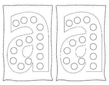 Dot-It Bingo Dauber Lower Case Alphabet Letter No Prep