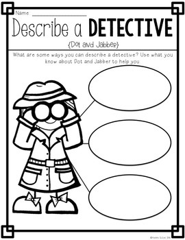 Book Study: Dot & Jabber and the Great Acorn Mystery by