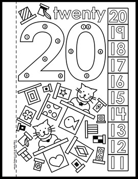 Dot-to-Dot Number Book 11-20 Activity Coloring Pages by