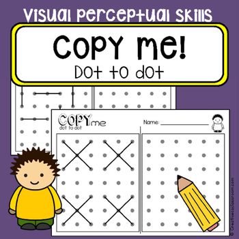 Dot To Dot Copy Practice