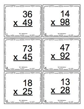 4th Grade Double Digit Multiplication: 4th Grade Math