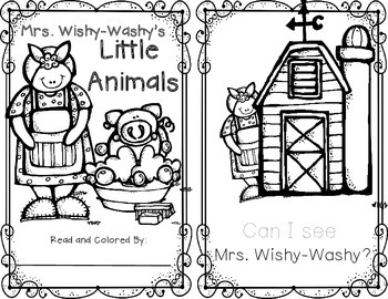Down on the Farm…with Mrs. Wishy-Washy by Markers and