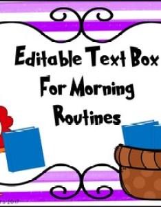 Dr seuss inspired morning routine anchor charts editable also by koala rh teacherspayteachers