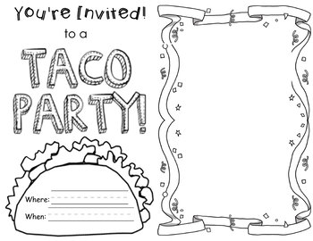 Dragons Love Tacos Coloring Sheet Coloring Pages