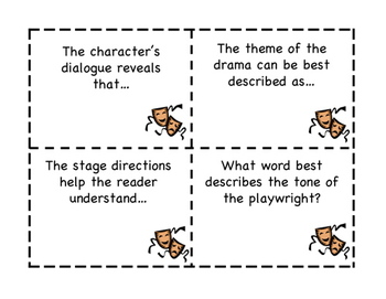 Drama/Play: Reading Comprehension Question and Thinking