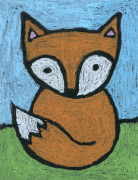 fox easy drawing draw super projects simple drawings animal oil teacherspayteachers pastels tpt