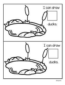 Ducks in the Pond Counting Center and Printables 0-10