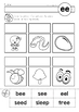 EE Vowel Digraph Games-Activities-Worksheets by Lavinia
