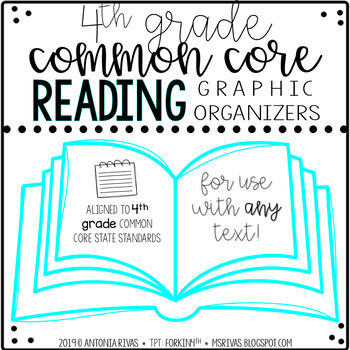 ELA Common Core graphic organizers (4th grade) by