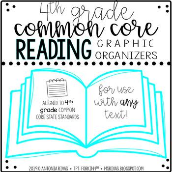 ELA Common Core graphic organizers (4th grade) by