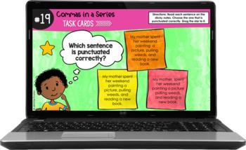 ELA Language Common Core Task Cards 5th Grade {L.5.2