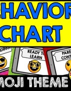 also emoji classroom decor behavior chart by free your heart tpt rh teacherspayteachers