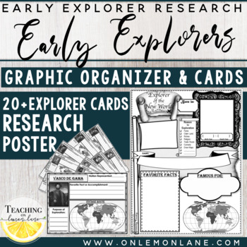 Early Explorer Report Graphic Organizer by Teaching on