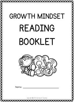 Growth Mindset: Reading Comprehension Passages (2nd Grade