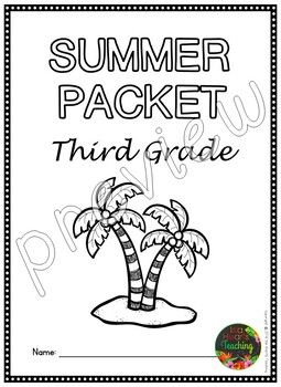 Third Grade Summer Packet (Third Grade Summer Review
