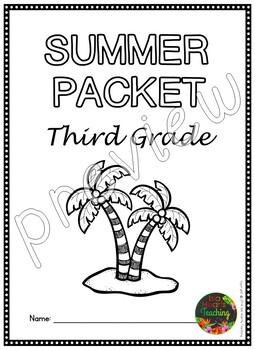 Third Grade Summer Packet (Third Grade Summer Review