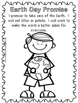 First Grade Science: Earth Day Coloring Pages by Mrs