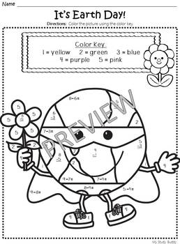 Earth Day Activities (Earth Day Math & Literacy