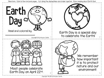 Earth Day Mini Unit: Activities and Printables! by