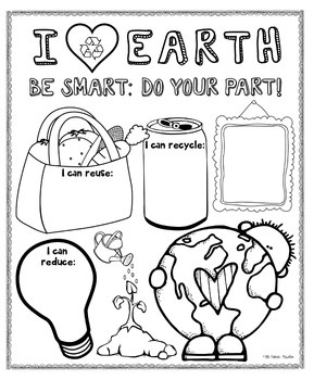 Earth Day Poster {For Bulletin Boards} by Kids and Coffee