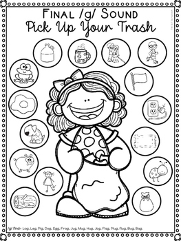 Earth Day Speech Sound Worksheets- No Prep by The SLT