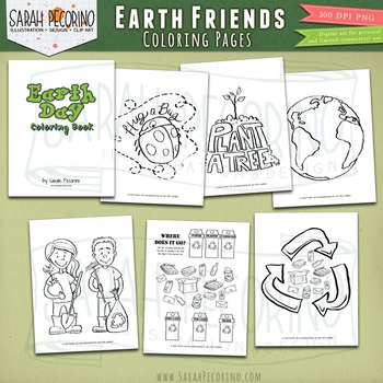 Recycling Coloring Page Worksheets Teaching Resources Tpt
