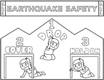 Earthquake Worksheet For Kids