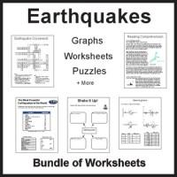 Earthquakes Earthquake Environmental Science Worksheets ...