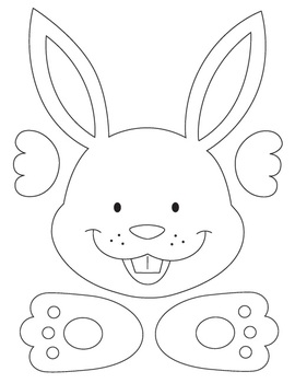 Easter Craft: Easter Bunny Poem Writing Activity with
