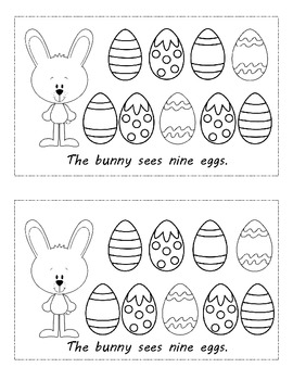 Easter Emergent Readers (2) Common Core Counting Book