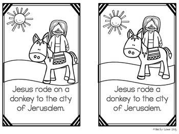 Easter: Holy Week Activities by The Kinder Korner