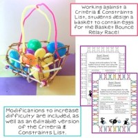 Easter STEM Challenge: Basket Bounce by Kerry Tracy | TpT