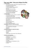 Faire Une Critique De Film : faire, critique, Critique, Worksheets, Teaching, Resources