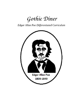 Edgar Allan Poe Differentiated Curriculum: Gothic Diner by