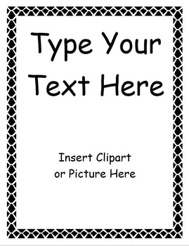 Editable Binder Covers and Spines by Teaching with Terhune